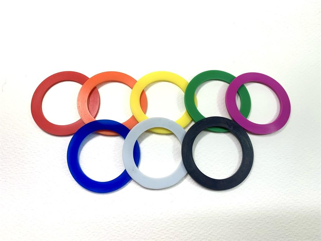 Color rubber ring